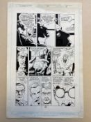 BATMAN: LEGEND OF THE DARK KNIGHT #11 (1990) - ORIGINAL ARTWORK - PAUL GULACY (Artist) - Page 8 (