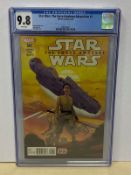 STAR WARS: THE FORCE AWAKENS - ADAPTATION #1 (2016 - MARVEL) Graded CGC 9.8 (Cents Copy) - Luke Ross
