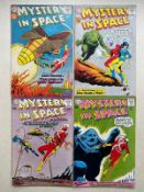 MYSTERY IN SPACE #64, 65, 66, 67 (4 in Lot) - (1960/61 - DC - Cents Copy - FN/VFN) - First