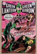 GREEN LANTERN #77 (1970 - DC) VFN (Cents Copy/Pence Stamp) - Guardians of the Universe appearance.