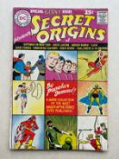 SECRET ORIGINS: GIANT ANNUAL #1 - (1961 - DC - Cents Copy - VG) - Murphy Anderson cover with Carmine