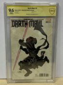 STAR WARS: DARTH MAUL #5 (2017 - MARVEL) Graded CBCS 9.6 - (Cents Copy) - SIGNED BY TERRY DODSON -