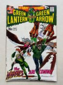 GREEN LANTERN #82 (1971 - DC) VFN (Cents Copy/Pence Stamp) - Black Canary and Sinestro appearances -