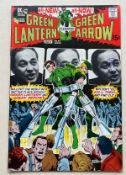 GREEN LANTERN #84 (1971 - DC) VFN+ (Cents Copy/Pence Stamp) - Photo cover (featuring the comic