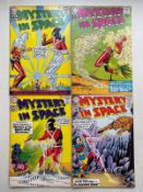 MYSTERY IN SPACE #68, 69, 70, 71 (4 in Lot) - (1961 - DC - Cents Copy - FN/VFN) - First appearance