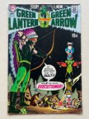 GREEN LANTERN #79 (1970 - DC) VFN (Cents Copy/Pence Stamp) - Black Canary appearance - Neal Adams