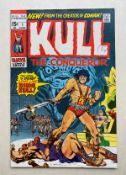 KULL THE CONQUEROR #1 - (1971 - MARVEL - Cents Copy/Pence Stamp - VFN) - Origin and second