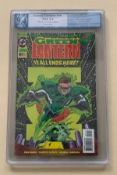"GREEN LANTERN #50 (1994 - DC) Graded PGX 9.4 (Cents Copy) - ""Glow in the Dark Edition"" - First"