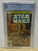 STAR WARS #50 (1981 - MARVEL) Graded CBCS 7.5 (Cents Copy) - Al Williamson interior art and Walt