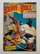 BRAVE & THE BOLD #4 - (1956 - DC) GD (Cents Copy) - Golden Gladiator, Silent Knight and Viking