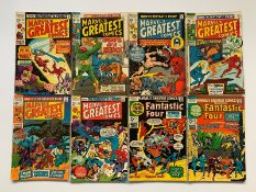MARVEL'S GREATEST COMICS LOT #23, 24, 25, 26, 27, 28, 30, 31 (8 in Lot) - (1969/71 - MARVEL -