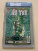 GREEN LANTERN #48 (1994 - DC) Graded PGX 9.4 (Cents Copy) - First appearance of Kyle Rayner (who
