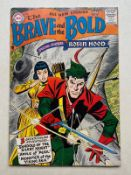 BRAVE & THE BOLD #12 - (1957 - DC) VG (Cents Copy) - Appearances include Silent Knight, Robin Hood