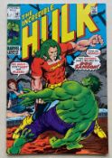 HULK #141 (DOC SAMSON) - (1971 - MARVEL - Pence Copy - VFN) - Origin and first appearance of Doc