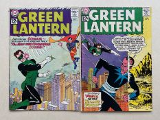 GREEN LANTERN #14, 15 (2 in Lot) - (1962 - DC) FN (Cents Copy) - Run includes origin and first