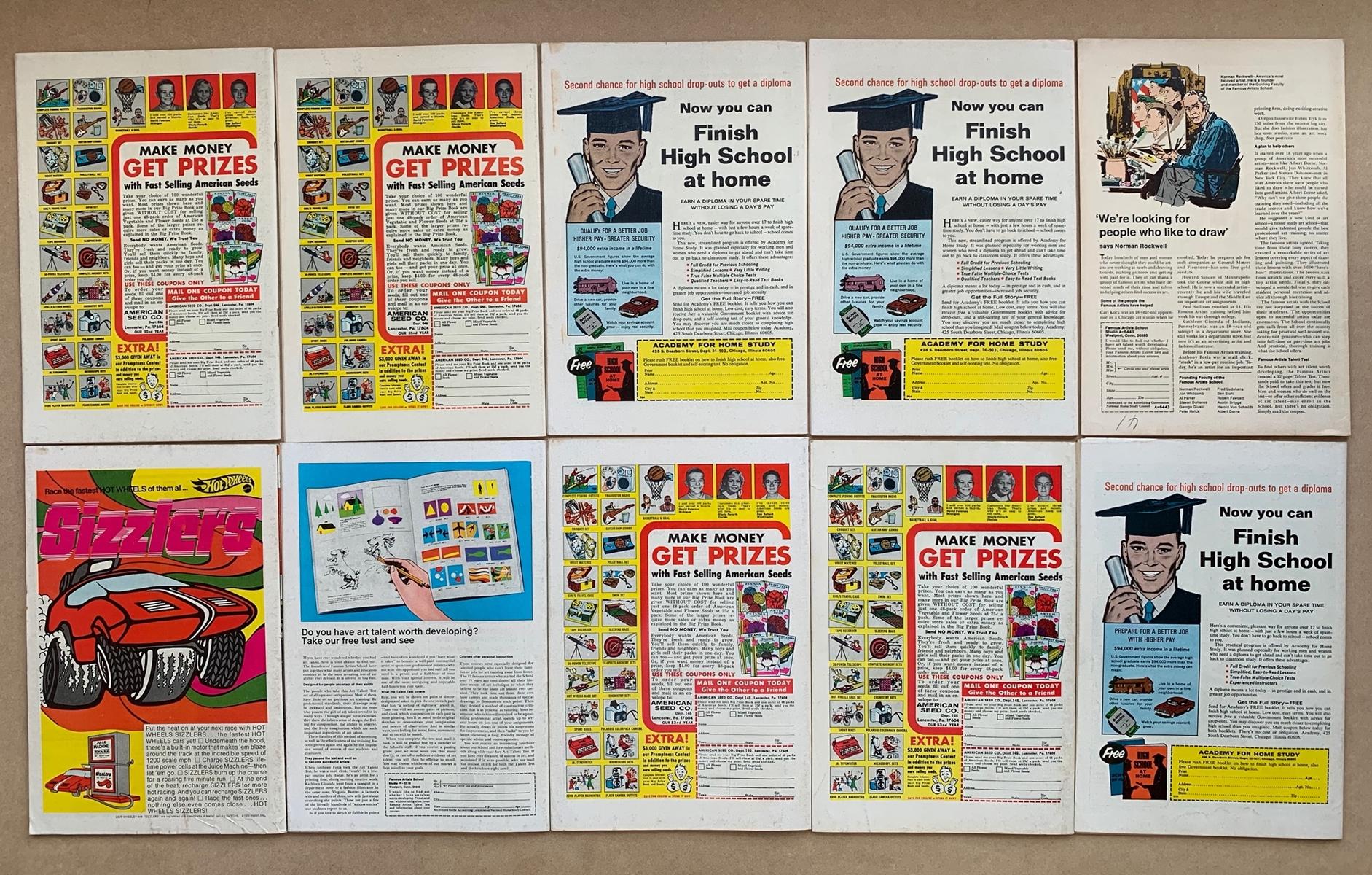 Lot 2006 - SUB-MARINER #25, 26, 27, 28, 31, 33, 36, 37, 38, 39 (10 in Lot) - (1970-1971 - MARVEL) - FN/VFN (