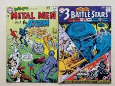 BRAVE & BOLD #52, 55 - SGT. ROCK, METAL MEN, ATOM (2 in Lot) - (1964 - DC) FN/VFN (Cents Copy) - Run