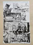 NEAL ADAMS ORIGINAL BATMAN ARTWORK (2010) - BATMAN ODYSSEY #3 ORIGINAL ARTWORK - NEAL ADAMS (
