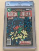 GREEN LANTERN #141 (1981 - DC) Graded CGC 9.4 (Cents Copy) - First appearance of the Omega Men -