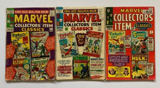 MARVEL COLLECTORS' ITEM CLASSICS LOT #1, 2, 3 (3 in Lot) - (1965/66 - MARVEL - Cents/Pence Stamp -
