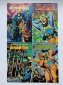 ANIMAL MAN #1, 2, 3, 4 (4 in Lot) - (1988) - DC VFN+ (Cents/Pence Copy) - Flat/Unfolded - Very