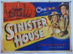 SINISTER HOUSE (1948) - (AKA 'WHO KILLED DOC ROBBIN' - Starring GEORGE ZUCCO - A rare British UK