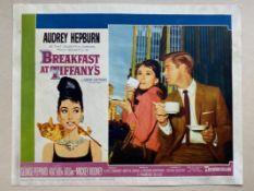 BREAKFAST AT TIFFANY'S (1961) - AUDREY HEPBURN - US Lobby Card #7 (NSS #61/262) - Audrey Hepburn &
