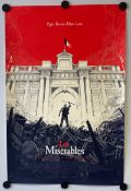 LES MISERABLES (2013) - Limited edition Silk Screen 'Mondo' lithograph produced in 2013 with art