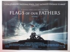 CLINT EASTWOOD: A selection of three rolled posters: FLAGS OF OUR FATHERS (2006) UK Quad, TRUE CRIME