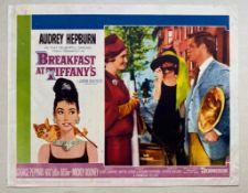 BREAKFAST AT TIFFANY'S (1961) - AUDREY HEPBURN - US Lobby Card #8 (NSS #61/262) - Audrey Hepburn &