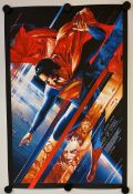 SUPERMAN: MAN OF STEEL (2013) - Limited edition Silk Screen 'Mondo' lithograph produced in