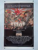 "1941 (1979) - STEVEN SPIELBERG - US One Sheet Film Poster (27"" x 40"" - 68.5 x 101.5 cm) - Folded"