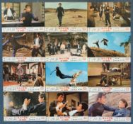 LADY WHIRLWIND (1972) - Complete set of 12 x Country of origin Hong Kong Lobby Cards - MARTIAL