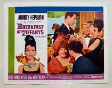 BREAKFAST AT TIFFANY'S (1961) - AUDREY HEPBURN - US Lobby Card #3 (NSS #61/262) - Audrey Hepburn