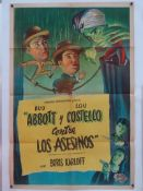 ABBOTT AND COSTELLO 'CONTRA LOS ASESINOS' (MEET THE KILLER) (1949) - Starring BORIS KARLOFF -