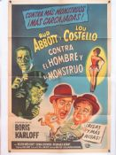 ABBOTT AND COSTELLO 'CONTRA EL HOMBRE Y EL MONSTRUO' (DR JEKYLL AND MR HYDE) (1953)- Starring