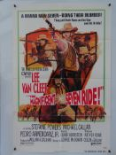 A SELECTION OF US ONE SHEET WESTERN FILM POSTERS: THE MAGNIFICENT SEVEN RIDE (1972), YOUNG FURY (