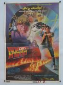 BACK TO THE FUTURE (1985) - THAI One Sheet Movie Poster - Artwork by THAI artist TONGDEE: who has