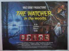 "WALT DISNEY: WATCHER IN THE WOODS (1980) First Release - British UK Quad film poster 30"" x 40"" (76 x"