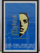 "TELL ME THAT YOU LOVE ME, JUNIE MOON (1970): 2 x movie posters: 1 x US One Sheet Movie Poster- 27"" x"