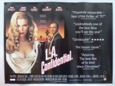 ACTION: Lot of rolled movie posters: To include 10 x UK Quads - L.A. CONFIDENTIAL (1997), FEMALE