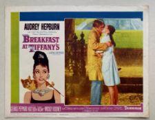 BREAKFAST AT TIFFANY'S (1961) - AUDREY HEPBURN - US Lobby Card #2 (NSS #61/262) - Audrey Hepburn &