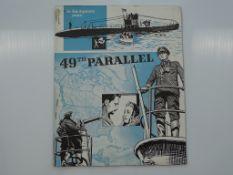 49TH PARALLEL (1940's) - RARE - British Press Campaign Brochure complete - Flat/Unfolded - Fine