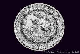 """Rosenthal Porzellan, 2 Frühlingsteller """"Die Jahreszeiten"""", 1 x Motiv Herbst und 1 x Motiv"""