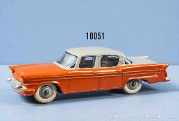 Dinky Toys 180 Packard Clipper, 2-farbig lack. Metallgußausf., M 1:43, gummibereift, sehr guter
