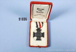 Ehrenkreuz für Witwen im dazugehörigen Etui, guter Zustand