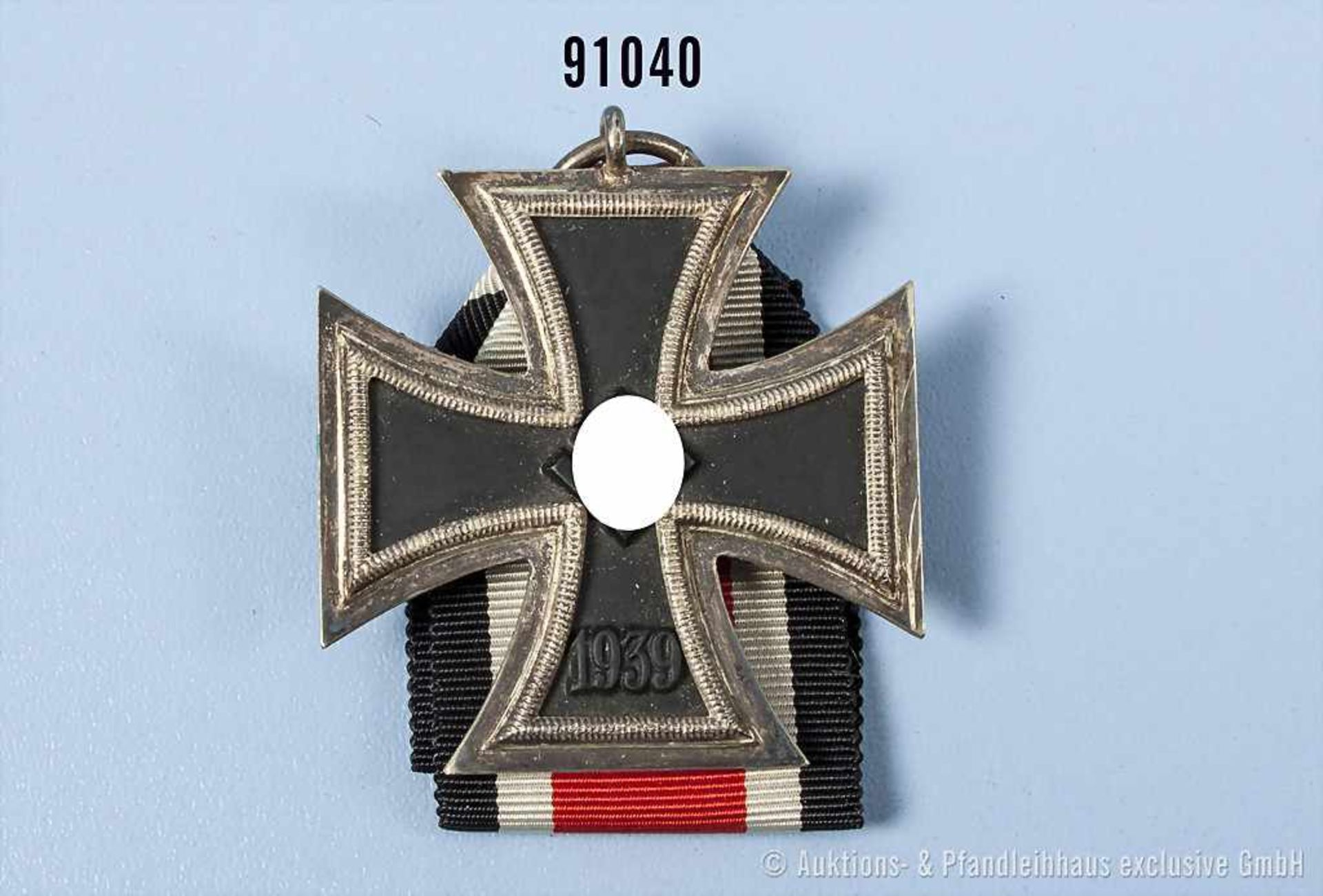 """EK 2 1939, Hersteller """"7"""" im Bandring, guter Zustand- - -19.00 % buyer's premium on the hammer"""