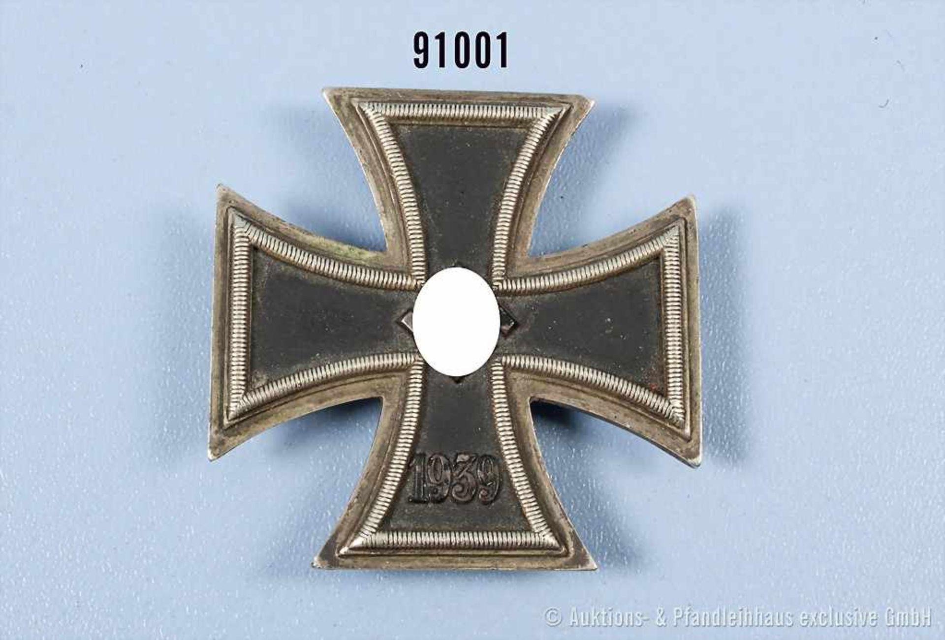 """EK 1 1939, Hersteller """"20"""" auf der Unterseite der Nadel, guter Zustand mit Alters- und"""