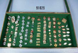 Konv. UdSSR, ca. 225 Solventenabzeichen militärischer Lehranstalten, Fallschirmspringer-Abzeichen,