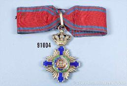 Orden vom Stern Rumäniens, Kommandeurkreuz in der Größe eines Großkreuzes (Order of the Star of